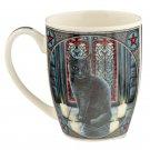 Sacred Circle Cat Lisa Parker Bone China Mug