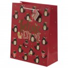 Feline Fine Christmas Cat Large Gift Bag