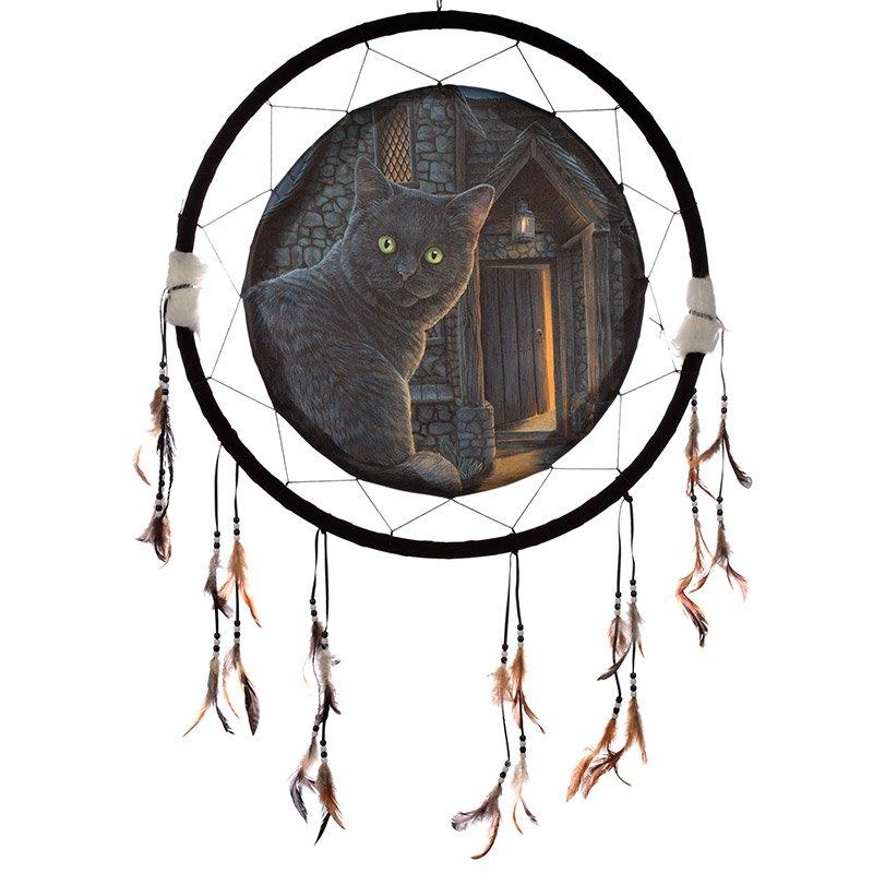 "Cat What Lies Within 60cm (24"") Dreamcatcher"