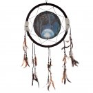 "Decorative Cat Design The Witches Apprentice 34cm (13.5"") Dreamcatcher"