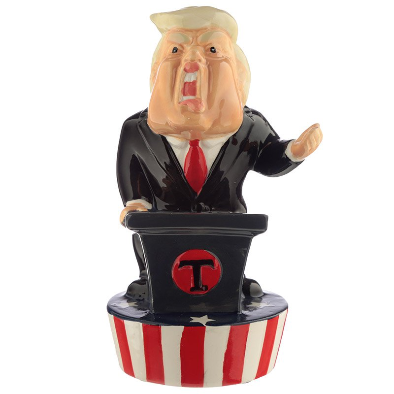 Ceramic President Money Box