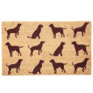 Coir Door Mat - Dogs