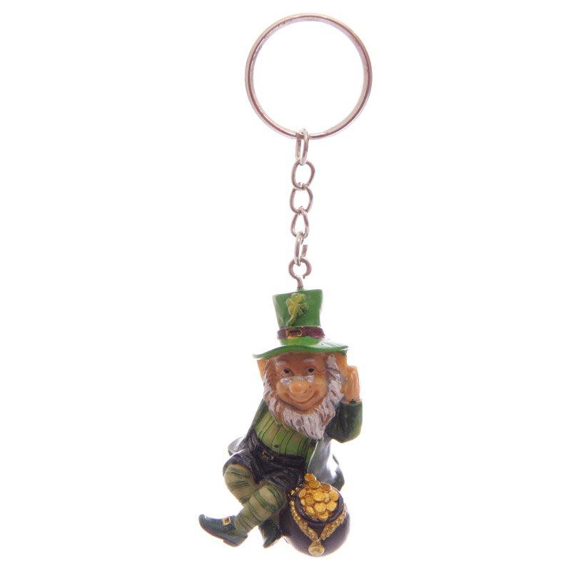 Lucky Leprechaun Keyring