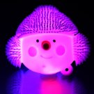 Kids Light Up Squidgy Christmas Puff Pet