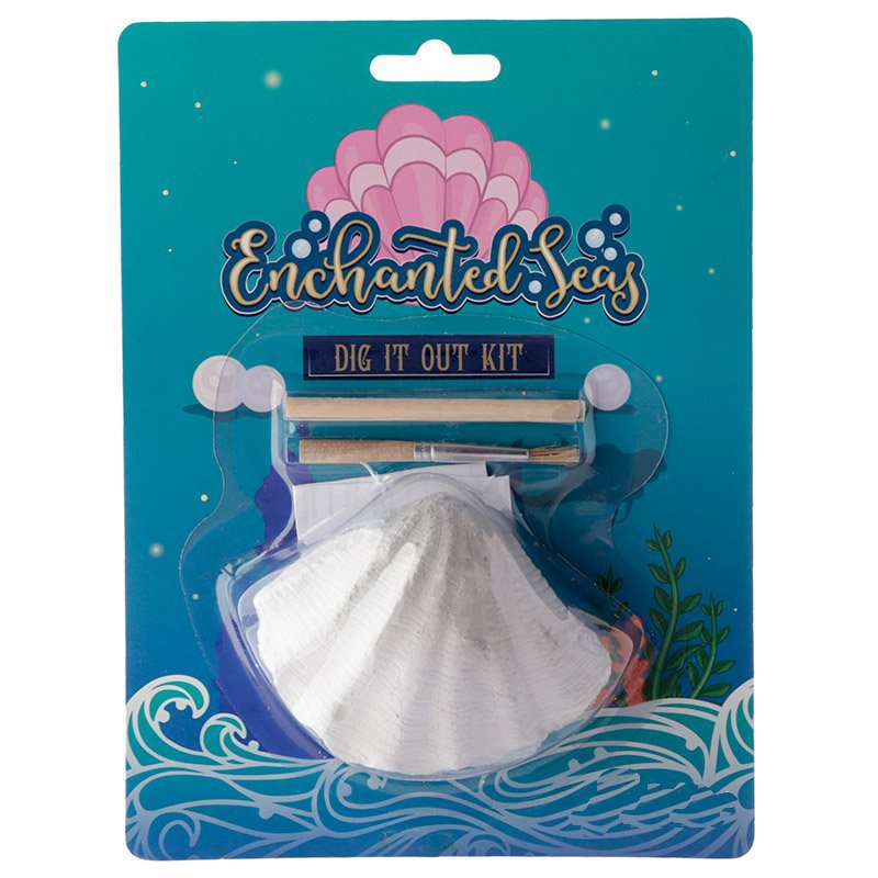 Excavation Dig it Out Kit - Pearl Sea Shell (Assorted)