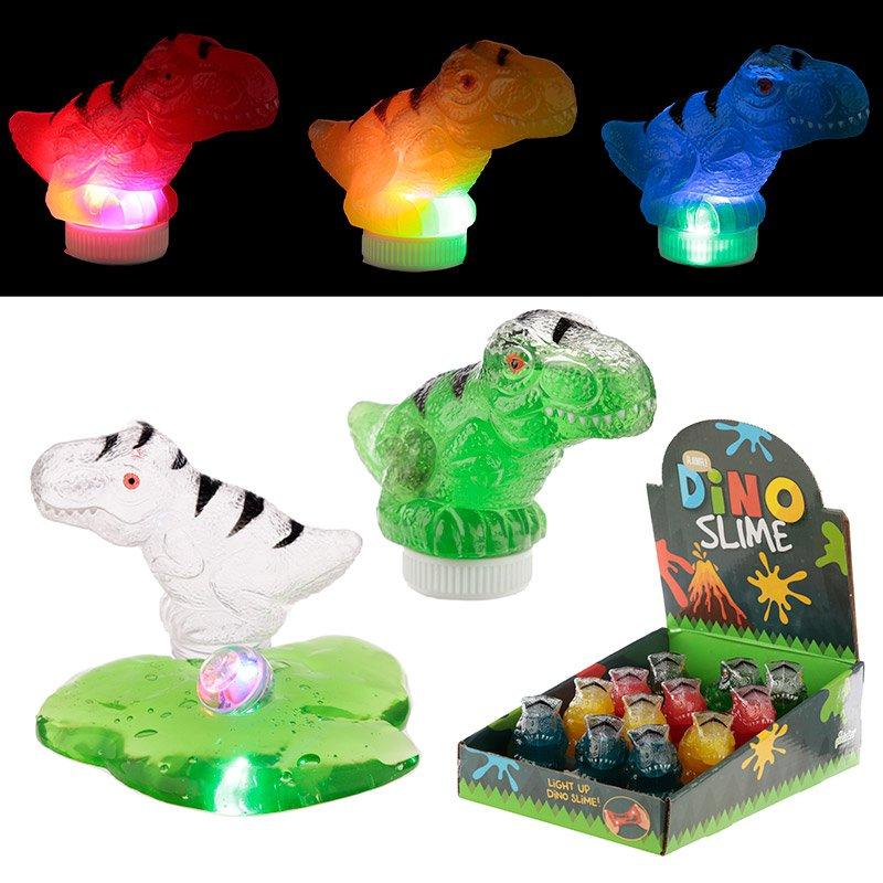 Fun Kids Light Up Dinosaur Slime