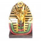 Decorative Gold Egyptian Tutankhamen Bust