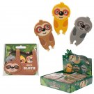 Cute Sloth Eraser Set of 3