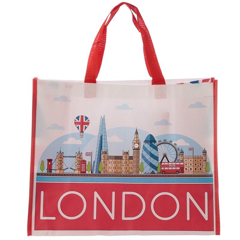London Icons Durable Reusable Shopping Bag