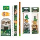Cute Sloth Design Stationery Set