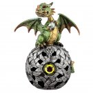 LED Celtic Orb Dragon Figurine (Assorted)