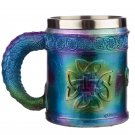 Collectable Metallic Rainbow Dragon Decorative Tankard