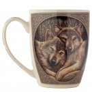 Wolves Loyal Companion Lisa Parker Designed New Bone China Mug