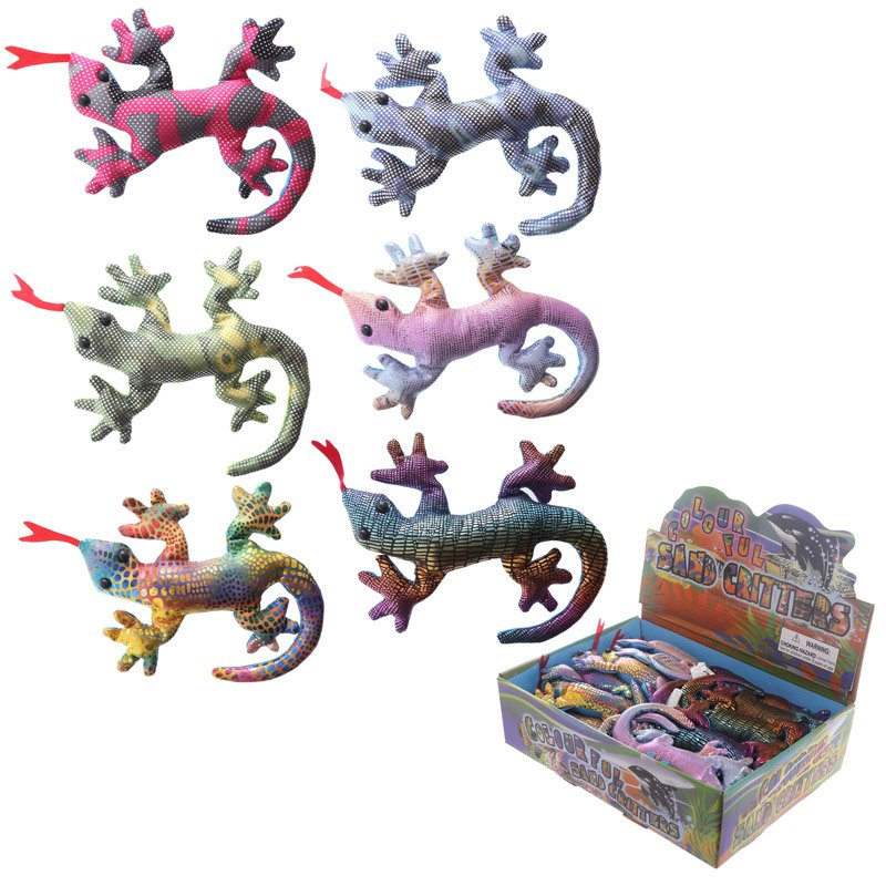 Cute Collectable Gecko Design Sand Animal Paperweight