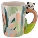 Ceramic Novelty Panda on Handle Design Mug