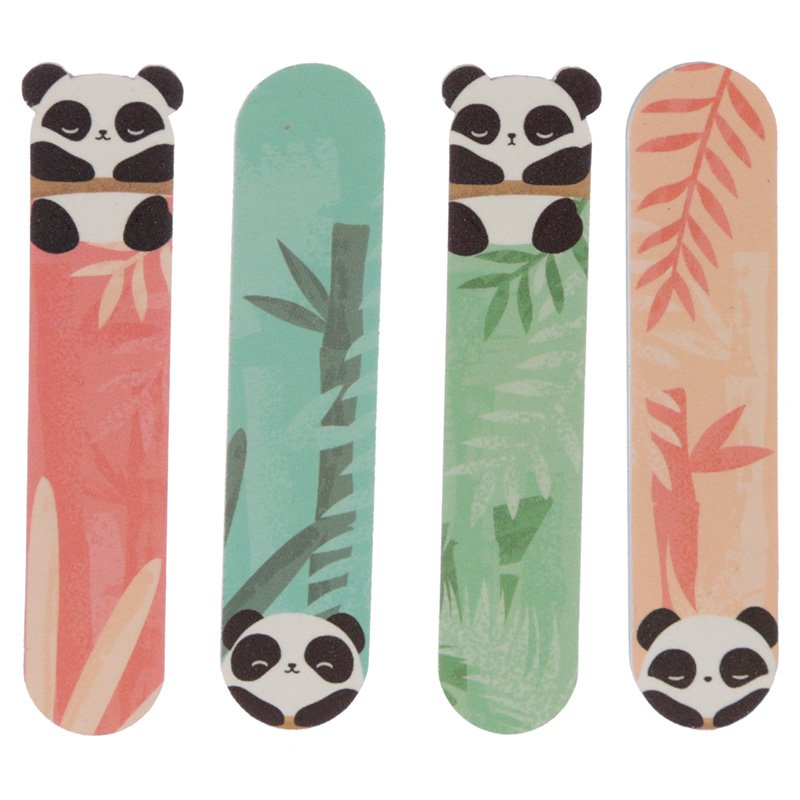 Fun Nail File Set of 4 - Panda Design