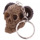 Celtic Skull Head Key Chain