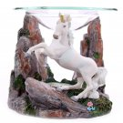 Unicorn Oil Burner with Glass Dish