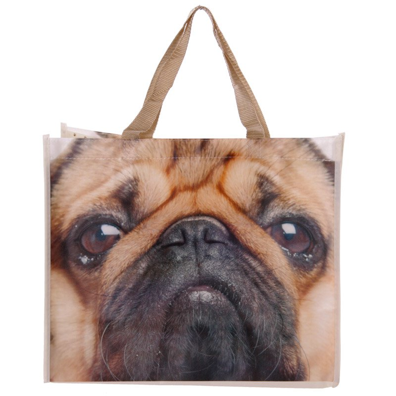 Pug Shopping Bag