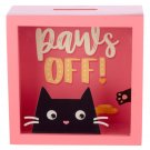 See Your Savings Money Box - Feline Fine Cat