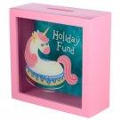 See Your Savings Money Box - Vacation Vibes Unicorn