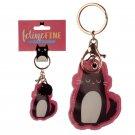 Leatherette Feline Fine Cat Keyring