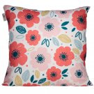Cushion with Insert - Poppies