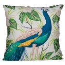 Cushion with Insert - Peacock