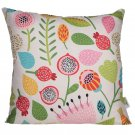 Cushion with Insert - Autumn Floral
