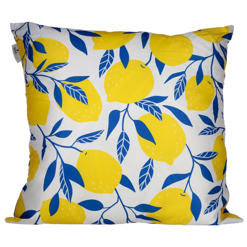 Cushion with Insert - Lemons