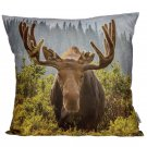 Cushion with Insert - Moose Photo