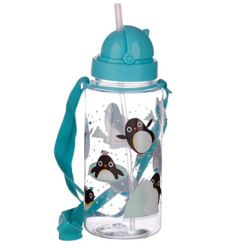 Penguin 450ml Childrens Water Bottle
