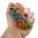 Kids Squish Mesh Rainbow Ball
