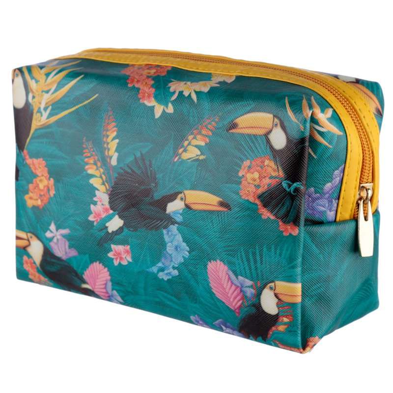 PVC Toiletry Bag - Toucan