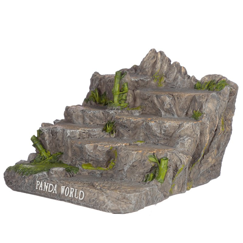 Panda World Tiered Trinket Display Stand