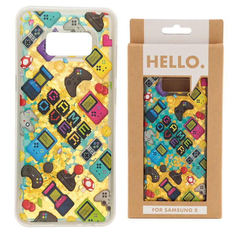 Samsung 8 Phone Case - Gaming Icons