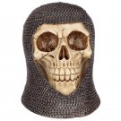 Gothic Chain Mail Skull Ornament