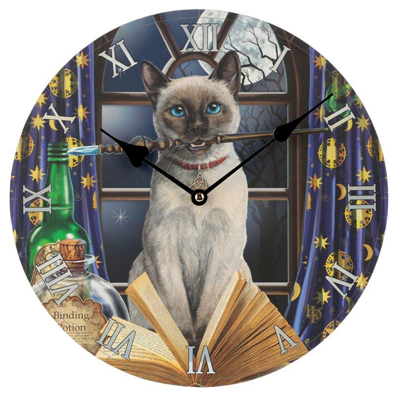 Cat Hocus Pocus Wall Clock