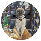Cat Hocus Pocus Lisa Parker Wall Clock