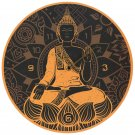 Thai Buddha Wall Clock