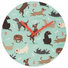 Catch Patch Dog Wall Clock