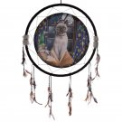 "Hocus Pocus Cat 60cm (24"") Dreamcatcher"