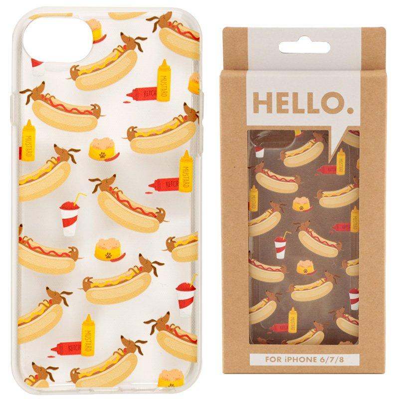 iPhone 6/7/8 Phone Case - Hot Dog Fast Food