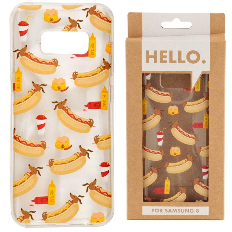 Samsung 8 Phone Case - Hot Dog Fast Food