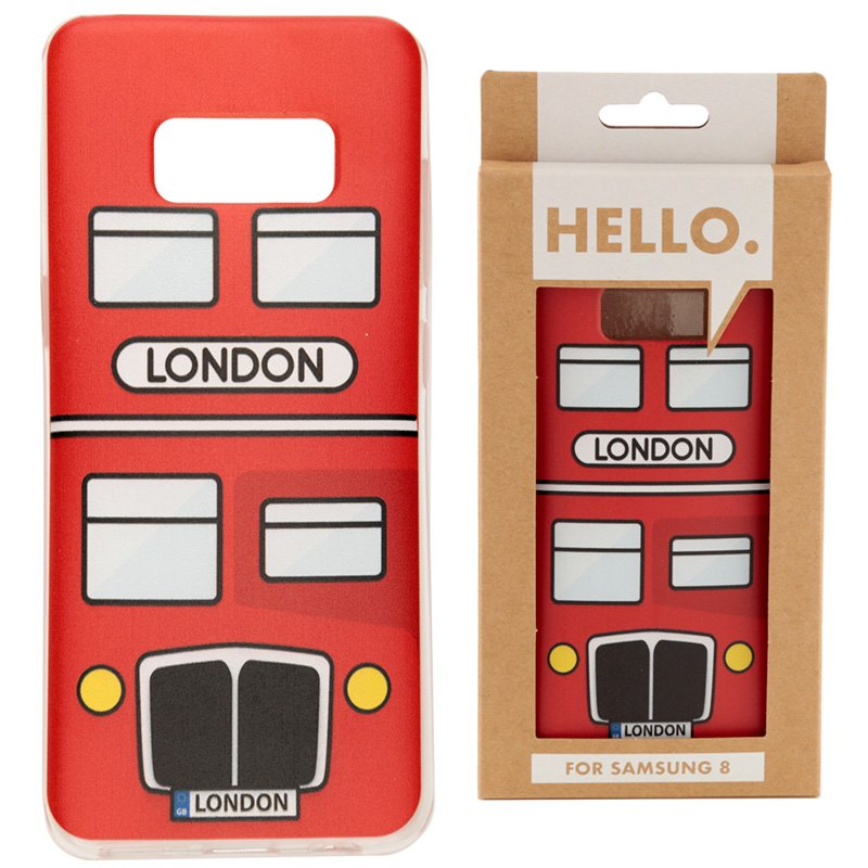 Samsung 8 Phone Case - London Bus
