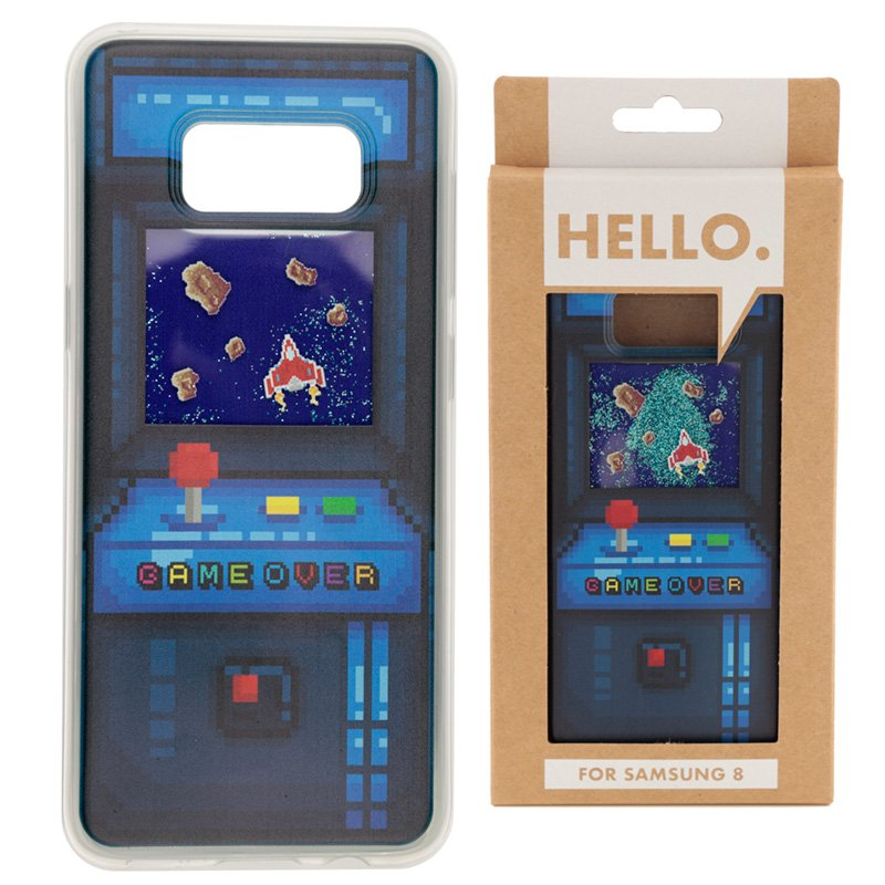 Samsung 8 Phone Case - Gaming Arcade Game