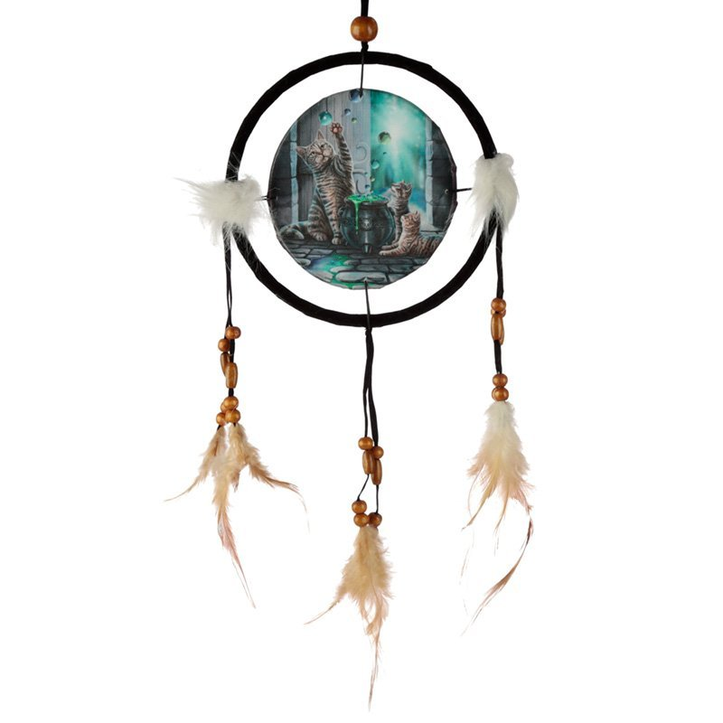 "Decorative Lisa Parker Hubble Bubble 16cm (6"") Dreamcatcher"