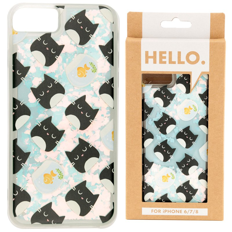 iPhone 6/7/8 Phone Case - Feline Fine Design