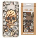 Samsung 8 Phone Case - Skulls & Roses Design