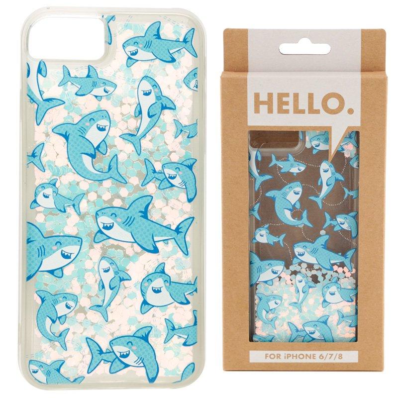 iPhone 6/7/8 Phone Case - Shark Design